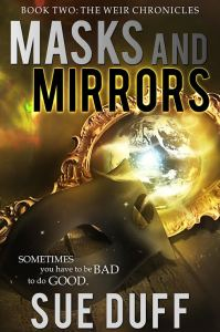 Book Cover - Masks and Mirrors