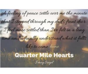 A feeling of peace settle over me the